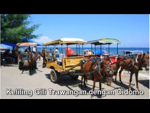 Wisata Indonesia : Gili trawangan, Pulau kecil di barat laut Lombok Indonesia, Mopon ID