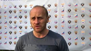Послематчевое интервью с главным тренером команды ВГИФК (Воронеж) Ярославом Козловым