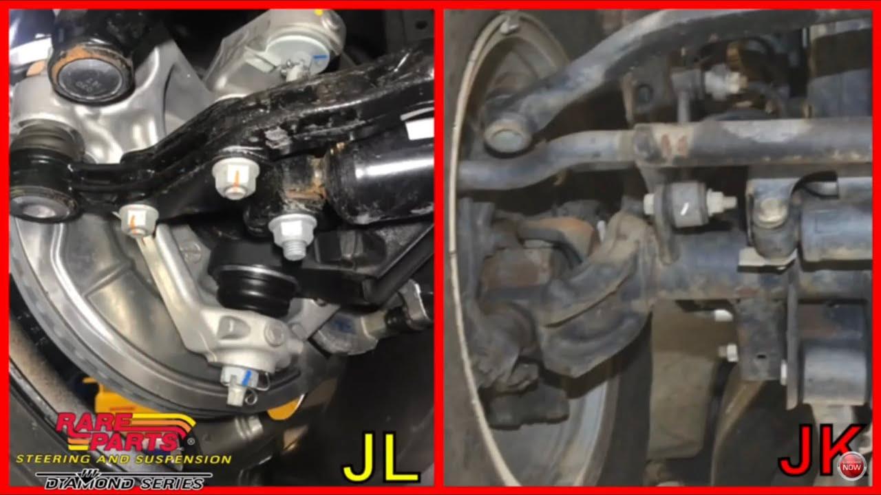 2018 Jeep JL Wrangler 🔴 JL Vs Jk Steering And Suspension Changes Is It  Enough To Fix Death Wobble?