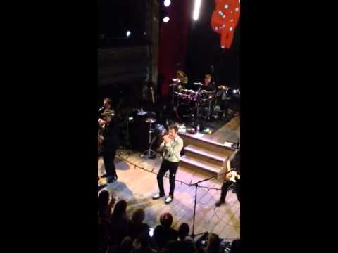 """Duran Duran """"A View to a Kill"""" clip from War Child gig at Wilton's Music Hall"""