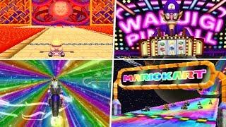 Evolution of Longest Mario Kart Tracks (1992 - 2019)