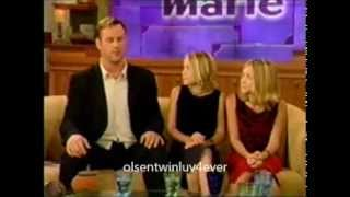 """Mary-Kate & Ashley Olsen on """"Donny & Marie"""" (1999) FULL INTERVIEW with Dave Coulier"""