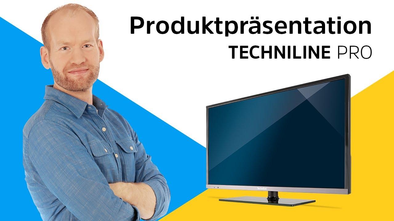 Video: TECHNILINE PRO | Kompakte 22 und 32 Zoll Smart TVs mit voller Ausstattung. | TechniSat