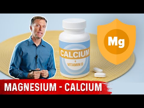 Magnesium Protects Against The Bad Effects Of Calcium