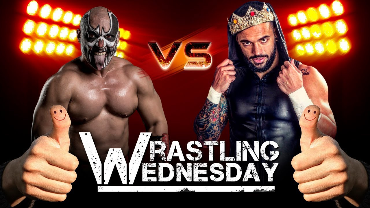 King Ricochet vs Karcamo - Wrastling Wednesday -  Karcamo Gaming Video Gaming