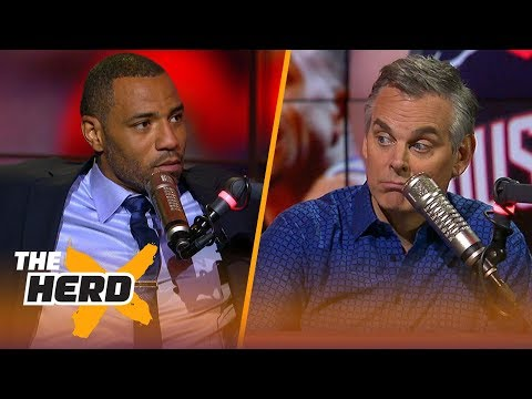 Kenyon Martin responds to Colin's NBA Top-10 players list, Talks LeBron - Jordan | NBA | THE HERD