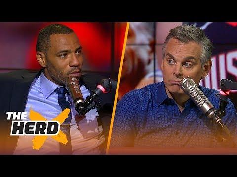 Kenyon Martin responds to Colin's NBA Top-10 players list, Talks LeBron - Jordan | NBA | THE HERD