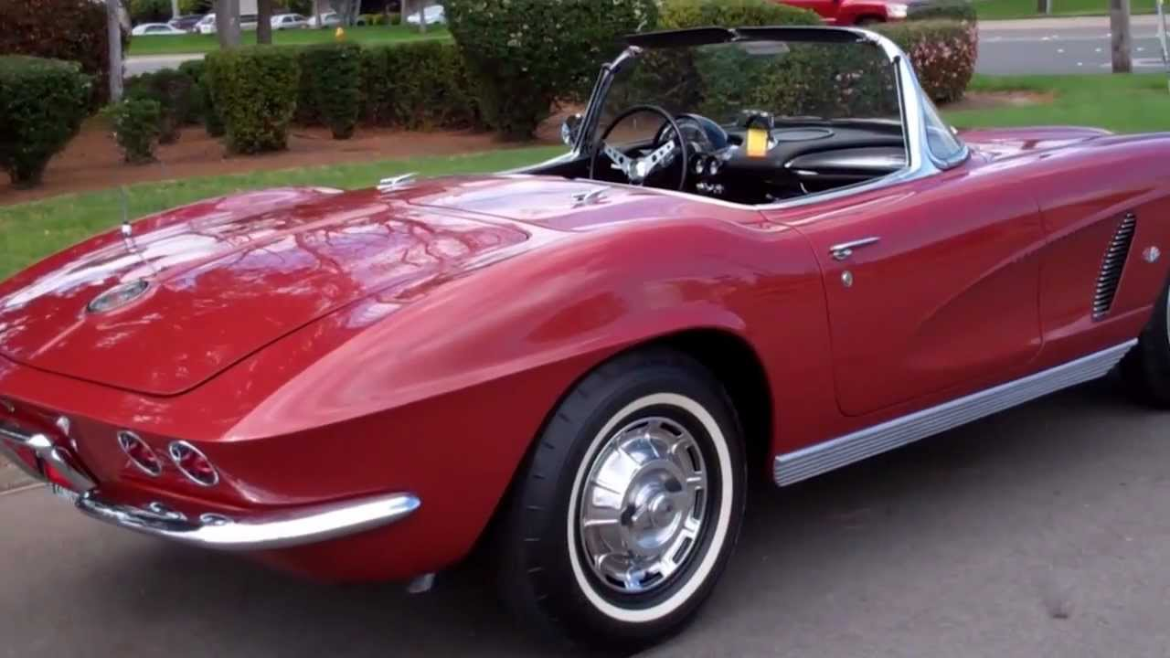 sold 1962 maroon 340hp corvette for sale by corvette mike youtube. Cars Review. Best American Auto & Cars Review