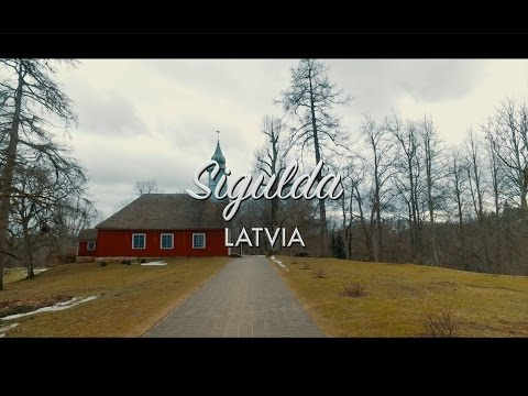 Sigulda Riga, Latvia Travel Video DJI Osmo 4K 2017