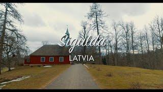 Sigulda Riga, Latvia Travel Video DJI Osmo 4K 2017