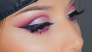 Hot Pink Cut Crease Tutorial