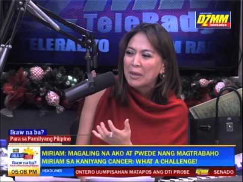 Ikaw Na Ba: Panayam kay Miriam Defensor-Santiago (Ikalawang Bahagi)