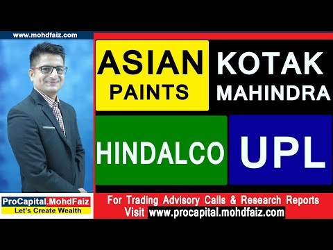 ASIAN PAINTS KOTAK MAHINDRA HINDALCO UPL