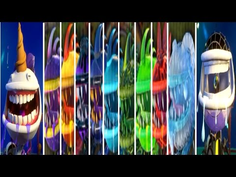 Plants vs. Zombies: Garden Warfare 2 - All 11 Chompers Gameplay!