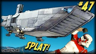 ATTACK OF THE DROPSHIPS! - Star Wars Battlefront 2 Funny Moments #47