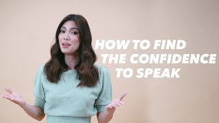 HOW DO I FIND THE CONFIDENCE TO SPEAK? | NICOLE CORDOVES