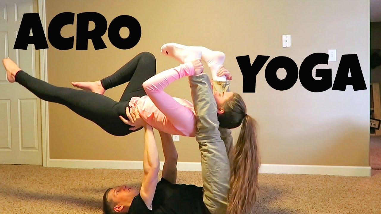 Acro Yoga Challenge W Jared Youtube