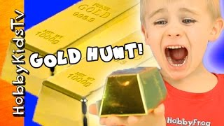 HobbyKids Mine For Gold Part 1