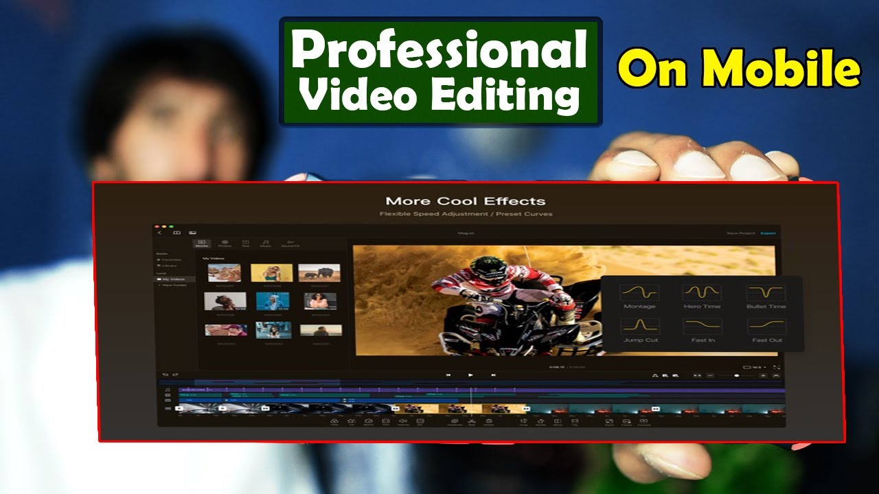 Professional video editing on mobile ||Video editing tutorial || Best video editing app