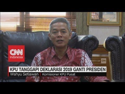 KPU Pusat: 2019 Ganti Presiden Sama Dengan Gerakan Jokowi Dua Periode