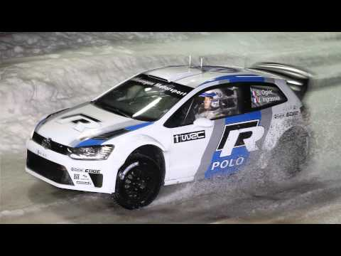Preview VW Polo R WRC on Ice Volkswagen Winter Night 2012 in Ellmau Full HD 1080p
