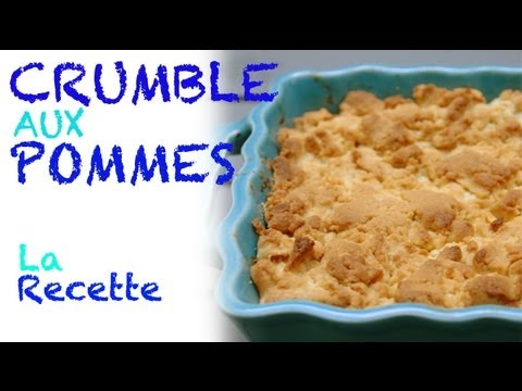 recette crumble aux pommes youtube. Black Bedroom Furniture Sets. Home Design Ideas