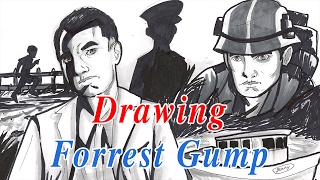 forest gump drawing