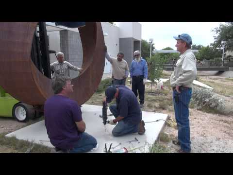 How to Create a Sculpture, Part 15: Installing the Sculpture - Kevin Caron