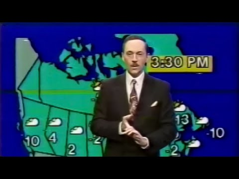 CBNT - Here & Now - Weather Segment (Fall 1991)