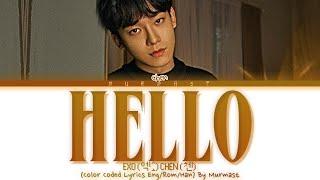 Download Lagu Chen Hello Lyrics Color Coded Lyrics Eng Rom Han  MP3