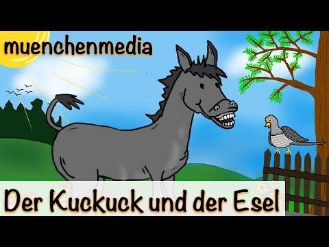 Der Kuckuck und der Esel - Kinderlieder zum Mitsingen | Kinderlieder deutsch - muenchenmedia