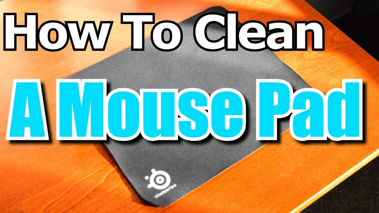 Cleaning My 7 Year Old Mouse Pad