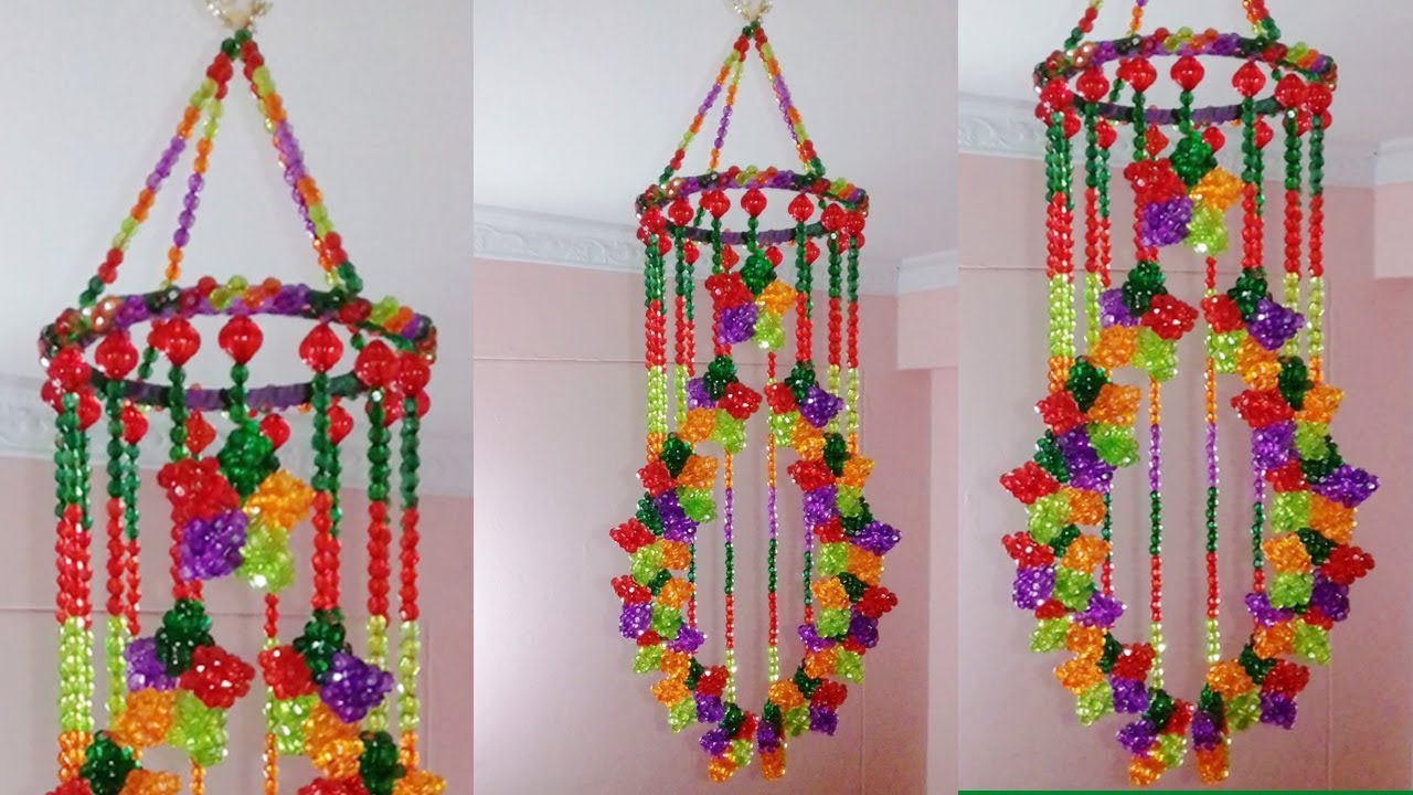 Diy wind chime how to make wind chimes at home wall for Wall hanging images