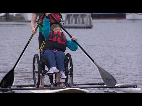 Adapted paddleboarding comes to Vancouver