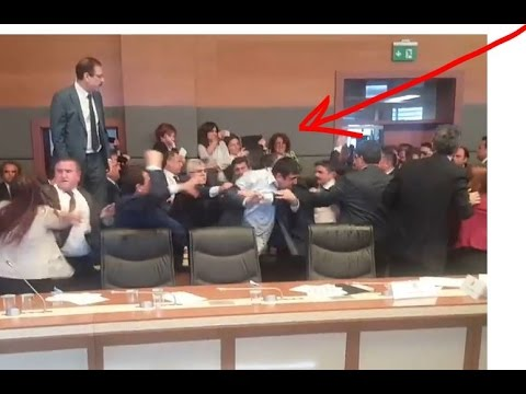 assault on the members pro-Kurdish HDP inside Turkish parliament