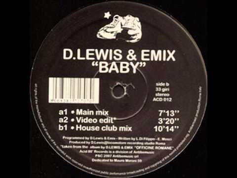 D Lewis & Emix - BABY (House Club Mix)