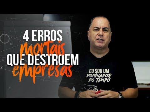 4 Erros Mortais que Destroem Empresas | Ivan Maia