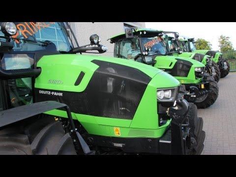 Deutz Fahr Roadshow 2013 at Agricultural Mechanization Kerstens Voeten! + New 5, 6 and 7 Series!