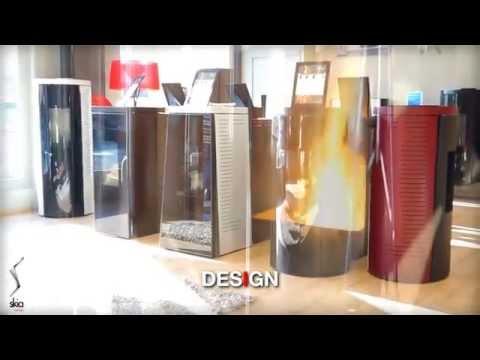 Οικολογικές ενεργειακές σόμπες pellet, Skia Design