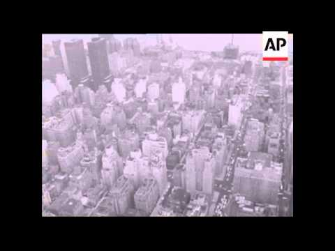 CAN707 STOCK SHOTS OF NEW YORK CITY, US PRESIDENT JOHNSON SIGNS IMMIGRATION ACT