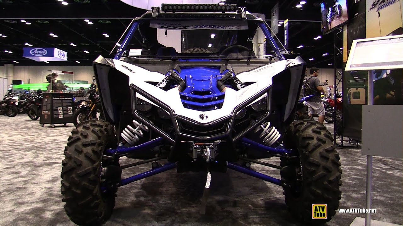 2016 yamaha yxz 1000r sport side by side atv walkaround 2015 aimexpo orlando youtube. Black Bedroom Furniture Sets. Home Design Ideas