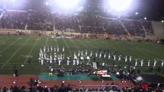 James A. Garfield High School Marching Band 2012 Half-time