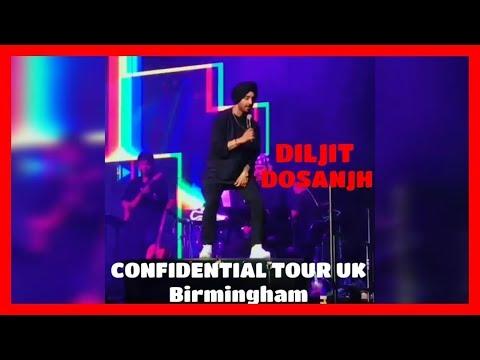 DILJIT DOSANJH || CONFIDENTIAL TOUR UK || BIRMINGHAM || Next level Concert ||