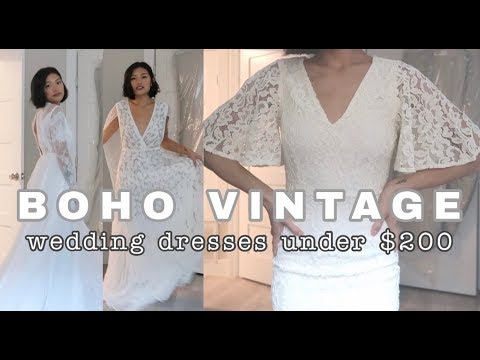 cheap-online-wedding-dress-haul-|-under-$200