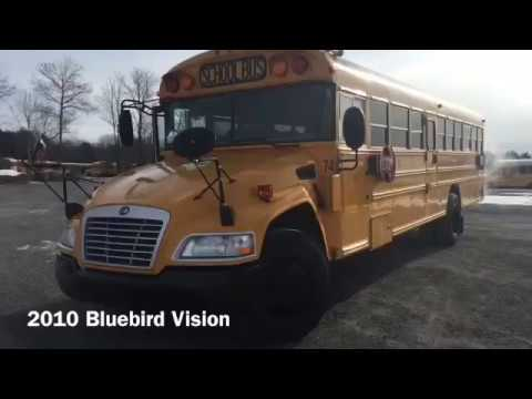 2010 Propane Powered Bluebird Vision School Bus Only 65,578 miles!
