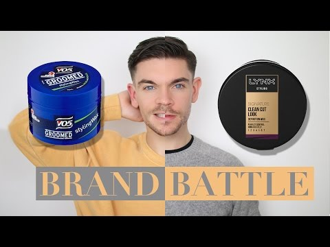 VO5 Wax vs. Lynx (Axe) Wax | Budget Brand Battle
