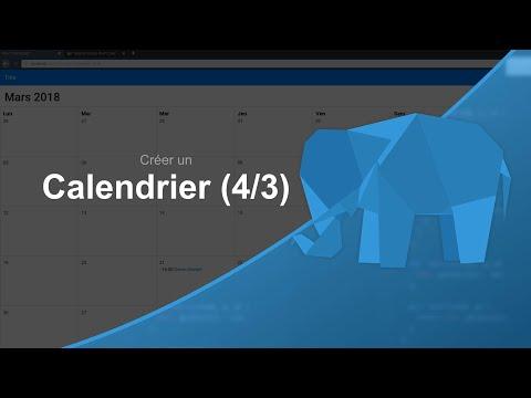 Tutoriel MySQL/PHP : Créer Un Calendrier 4/3
