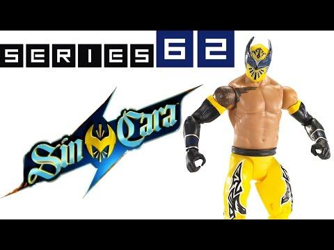 WWE FIGURE INSIDER: Sin Cara - WWE Series 62 Toy Wrestling Figure from Mattel