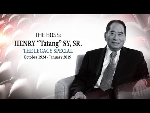 The Boss: The legacy of Henry Sy Sr.