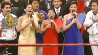LA DIVA - Lupang Hinirang (Pacquiao vs. Cotto) (HQ Audio)